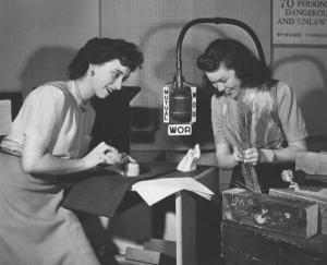"Dorothy Sweeney  y Margaret ""Peg"" Miller, ruideras. Foto Schenectady Museum"