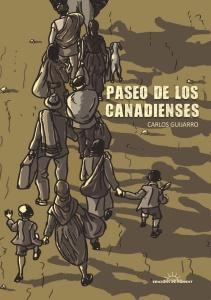 Carlos Guijarro ilustra 'la desbandá' malagueña del 37 en el cómic 'Paseo de los canadienses'